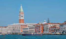 Piazza San Marco in early morning at Venice. Royalty Free Stock Image
