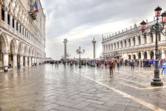 Piazza San Marco. HDR Stock Images