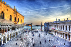 Piazza San Marco. San Marco is the most important square of the city of Venice Stock Images