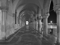 Piazza San Marco at night. Royalty Free Stock Photography