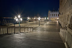 Piazza San Marco at night, Venice Stock Image
