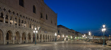 Piazza San Marco at night, Venice. Stock Photo