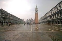Piazza San Marco (quadrato di contrassegni santi) fotografie stock libere da diritti
