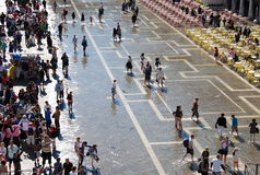 Piazza San Marco After Rain Royalty Free Stock Photo