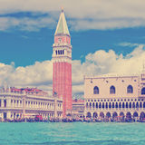 Piazza San Marco or st Mark square Royalty Free Stock Image
