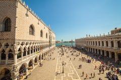 Piazza San Marco, Venedig, Italien Royaltyfria Bilder