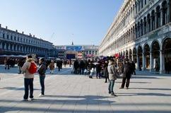 Piazza San Marco Venetië Stock Afbeelding