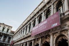 Piazza San marco Venetië Royalty-vrije Stock Foto