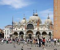 Piazza San Marco in Venetië stock afbeeldingen