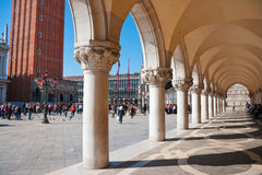 Piazza San Marco. Venetië Stock Fotografie