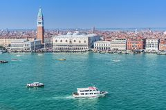 Piazza San Marco a Venezia Italia Immagini Stock Libere da Diritti