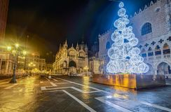 Piazza San Marco a Venezia, Italia fotografie stock libere da diritti