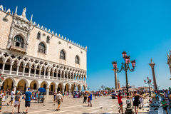 Piazza San Marco a Venezia, Italia fotografia stock libera da diritti