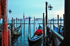 piazza san marco venezia, one of the panoramas you can see. stock images