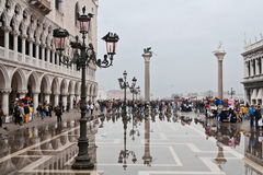 Piazza San Marco Venice Stock Photo