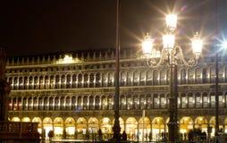 Piazza San Marco Venice Royaltyfria Bilder