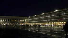Piazza San Marco Venice stock video