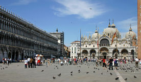 Piazza San Marco in Venice Stock Photography
