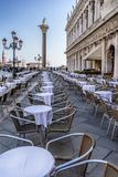 Piazza San Marco in Venice royalty free stock photo