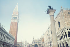 Piazza San Marco, Venice - Italy Royalty Free Stock Photo