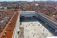 Piazza San Marco in Venice Stock Images