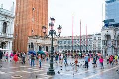Piazza San Marco Venice, Italy Royalty Free Stock Photos