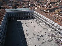 Piazza San Marco in Venice Royalty Free Stock Photography