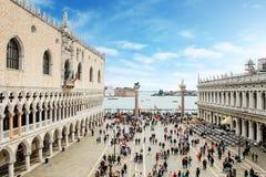 Piazza San Marco w Wenecja Włochy Zdjęcie Stock