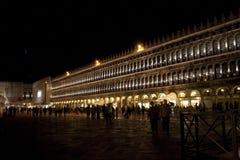 Piazza San Marco w wieczór zdjęcie royalty free