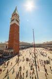 Piazza San Marco, Wenecja, Włochy Obraz Stock