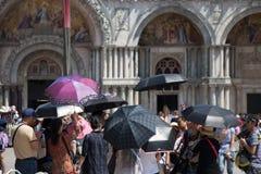 piazza San marco Wenecji obraz royalty free
