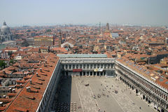 piazza San marco Wenecji Obrazy Royalty Free
