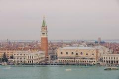 piazza San marco Wenecji Zdjęcie Stock