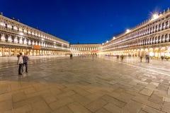 piazza San marco Wenecji zdjęcia stock