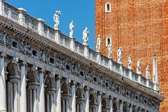 Piazza San Marco widok Obrazy Royalty Free