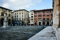 Piazza San Michele, Lucca, Italy Royalty Free Stock Photo