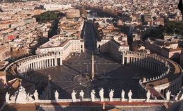 Piazza san pietro Royalty Free Stock Photography