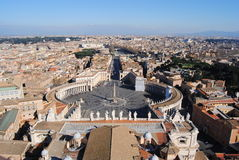 Piazza san Pietro Royalty Free Stock Photo