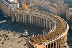 Saint Peters Square Royalty Free Stock Image