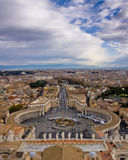 Piazza San Pietro Royalty Free Stock Image