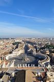 Piazza San Pietro fotografia stock