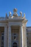 Piazza San Pietro Bernini Colonnade - Rome Royalty Free Stock Photography