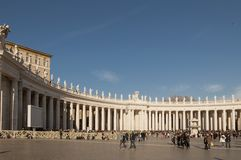 Piazza San Pietro Stock Image