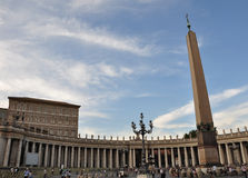 Piazza San Pietro (St Peter's Square) Royalty Free Stock Image
