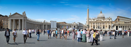Piazza san Pietro - Vatican Stock Photos