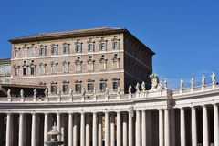 Piazza San Pietro, Vatican Stock Photography