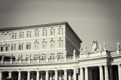 Piazza San Pietro in Vatican City Royalty Free Stock Photography