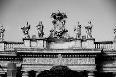 Piazza San Pietro, Vatican, Italie Photographie stock libre de droits