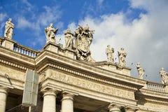 Piazza San Pietro, Vatican, Italie Photos libres de droits