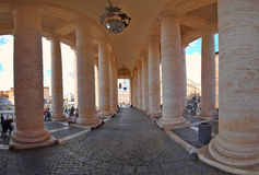 Piazza San Pietro in Vatican Royalty Free Stock Image